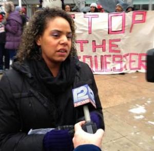 Jennifer Epps-Addison at Wisconsin action