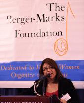 Remarks from 2014 Edna Award Winner Cristina Jimenez.