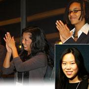 Among the finalists: (clockwise from l.) Nicole R. Lee, Elizabeth Wilkins & Hye Jin Rho.